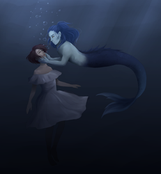 [Under the sea] by KeiARTx