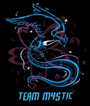 Team Mystic by ChieUsagi