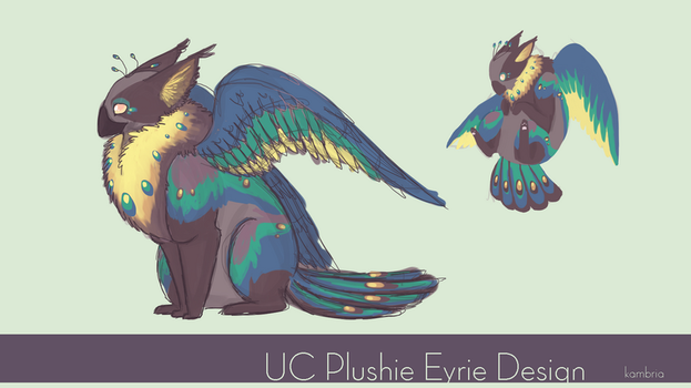 UC Plushie Eyrie Design by NagaPls