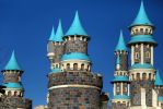 Blue Castle by CananStock