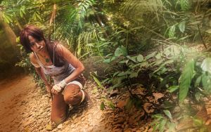 Tomb Raider: Reborn - Bow by ruby-hearts