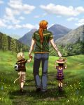 A Day with Daddy by algy