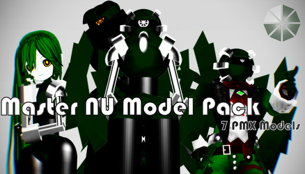 MMD 77 Watchers Gift: Master NU Pack [DL] by TheNufinger