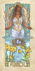 Lady of March by AngelaSasser