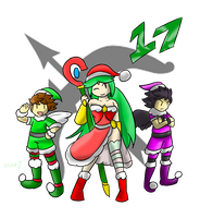 Smash Advent no.17: Kid Icarus by Xero-J
