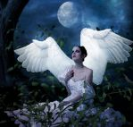 MoonAngel by PlacidAnemia