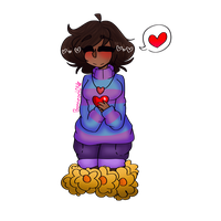 Frisk :ART TRADE: by Bonnieart04