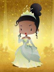 Disney Princesse Tiana by capdevil13
