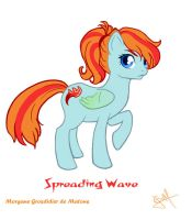 Spreading Wave by MorganeDeMatons