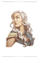 Mother of Dragons by danielledemartini