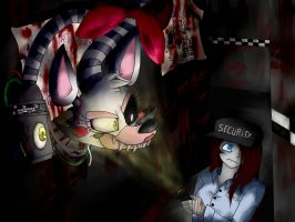FNAF2-Hide and seek wiith Mangle... by BlaziePanda