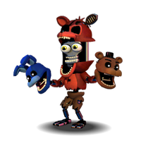 [FNAF WORLD] Adventure Foxy.Exe! by Daspancito