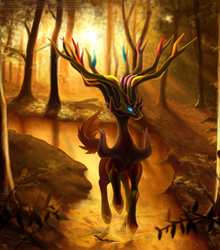 Xerneas: Forest by Xous54