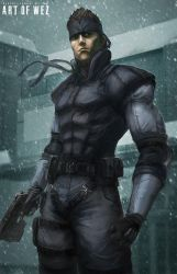 The Legendary Solid Snake by W-E-Z