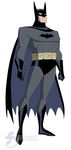 Batman (First Costume) - Batman: TAS by JTSEntertainment