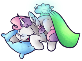 Sleeping Sweetie Belle by CutePencilCase