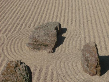 Sand and Rocks by petewentzrox