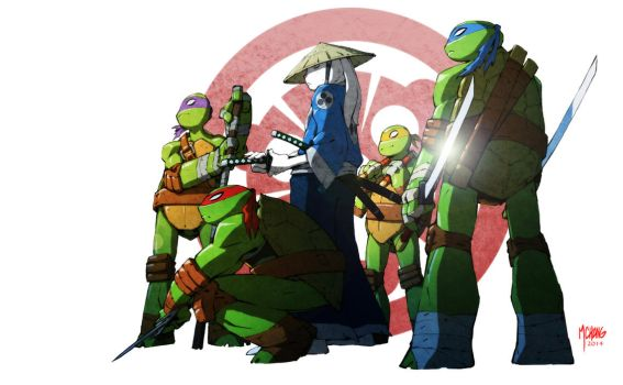 Usagi TMNT by Michael-Chang
