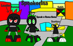 Mixels: OC's tribes: Speakorina by Luqmandeviantart2000