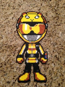Power Rangers Go-Busters Yellow by powerranger02