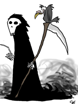 The Grim Reaper by maneakiller