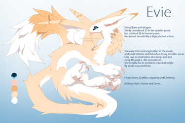 Evie - reference sheet + The Style Challenge by Yechii