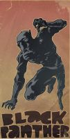 black panther by laseraw