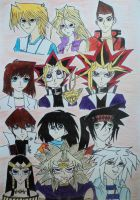 YuGiOh Characters by itweetie