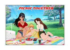 Picnic Together by AndrewBaker69