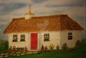 My Little Irish Cottage 1 by JosephJODonnell