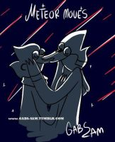 Meteor moves regular show by gabs94