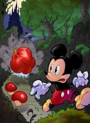 Castle of Illusion starring Mickey Mouse by Joelchan