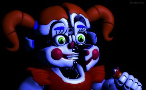 Circus Baby Jumpscare by Kameron-Haru