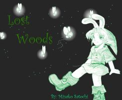 Link in Lost Woods by Minako001