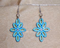 Quilling earrings by OmbryB