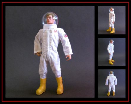 Action Man space explorer(custom helmet and boots) by nightwing1975