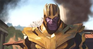 Thanos by AkmarMohamed