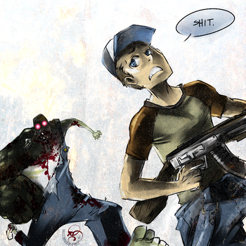 Left 4 Dead: RUN ELLIS by karniz