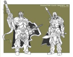 Character Class Concept O4 by LeeSmith