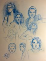 John Mayer Portrait Sketches by Diana-Huang