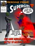 Heroine Prime Volume 1 Issue 4: Supergirl Index by TrekkieGal