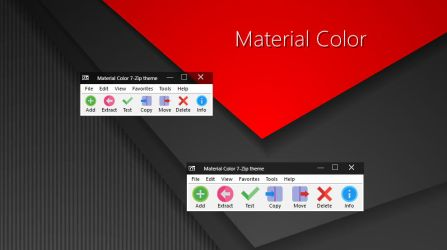 Material Color 7-Zip theme by alexgal23