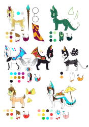 NOT FOR SALE--100 Follower Adoptables- Furry Amino by Slugos