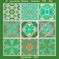 9 Laccabawn Summer Seamless PAT Files by Zepheryna