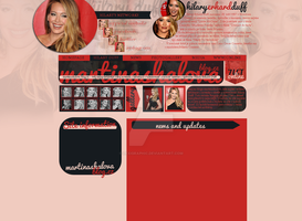 Hilary Duff Layout by Lexigraphic