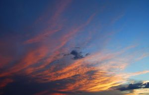 Sunset Clouds Stock 4089 by Phenix59