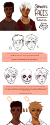 { Tutorial } Coloring faces by R0BUTT
