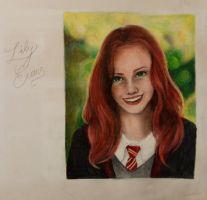 Lily Evans by msbutterblue