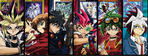 YuGiOh Protagonists by niceguysherwin007