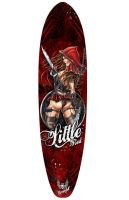 Little Red Longboard by jamietyndall